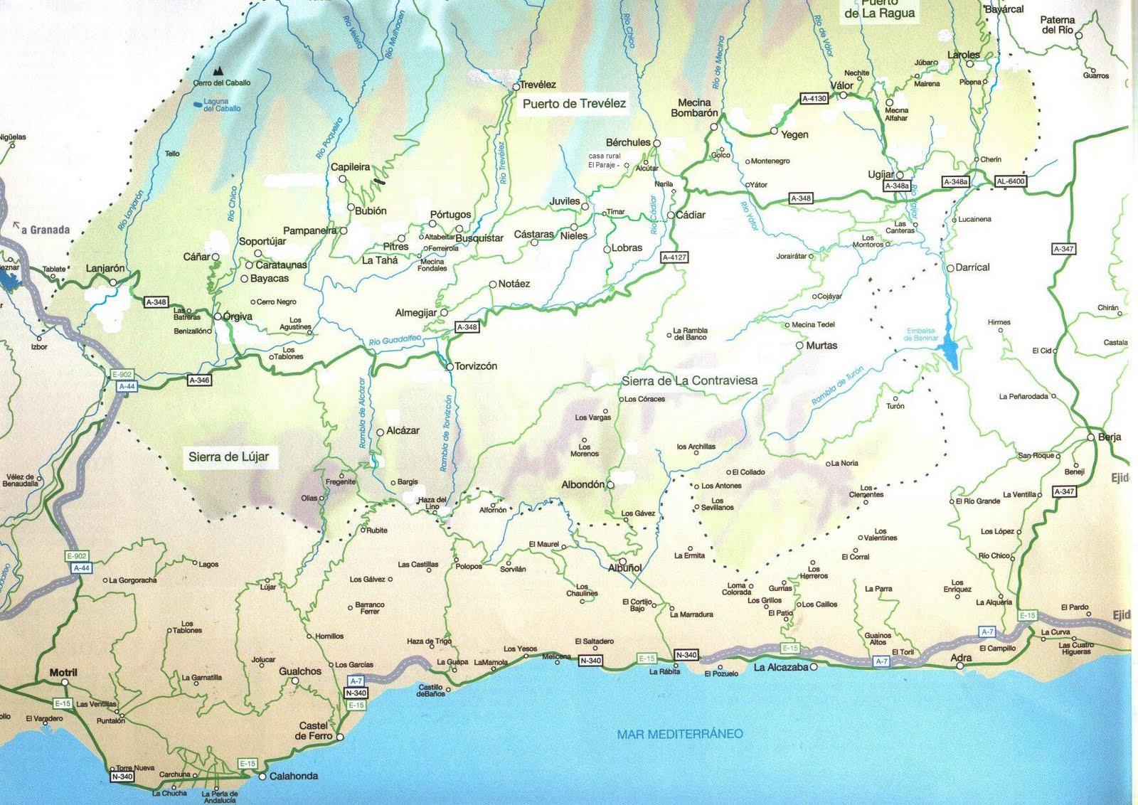 Mapa De La Alpujarra.Mapa Alpujarras Pdf Bounconevan Ga